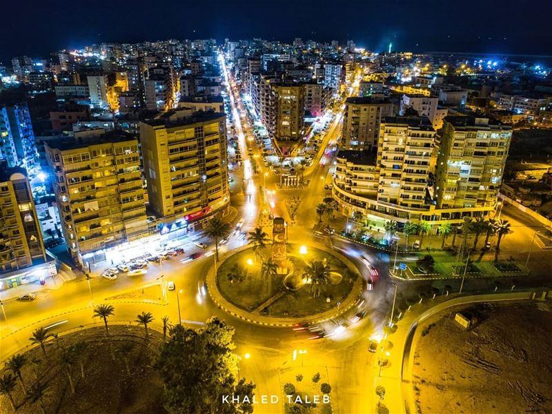 طرابلس - الميناء - مستديرة اللؤلؤة 💚 tripoli north lebanon dji ...