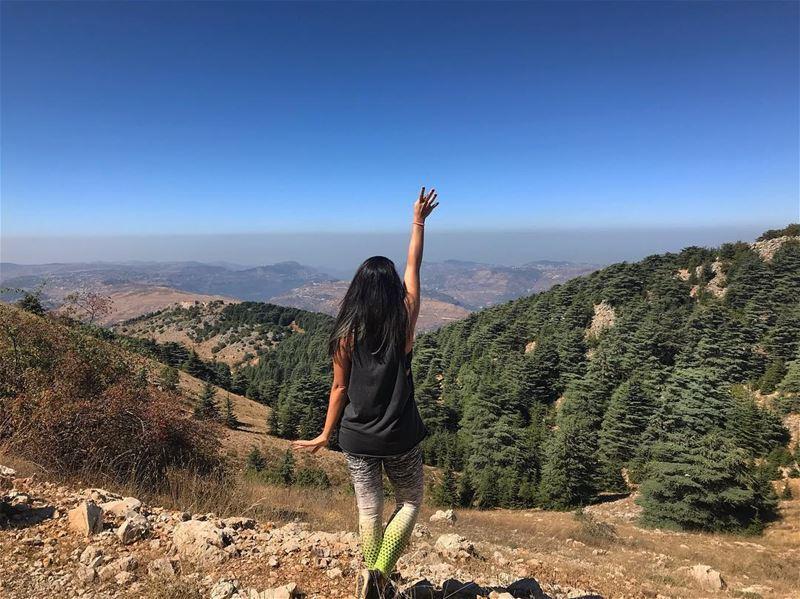Ballerina in the forest‼️ ................. lebanon ... (Hala)