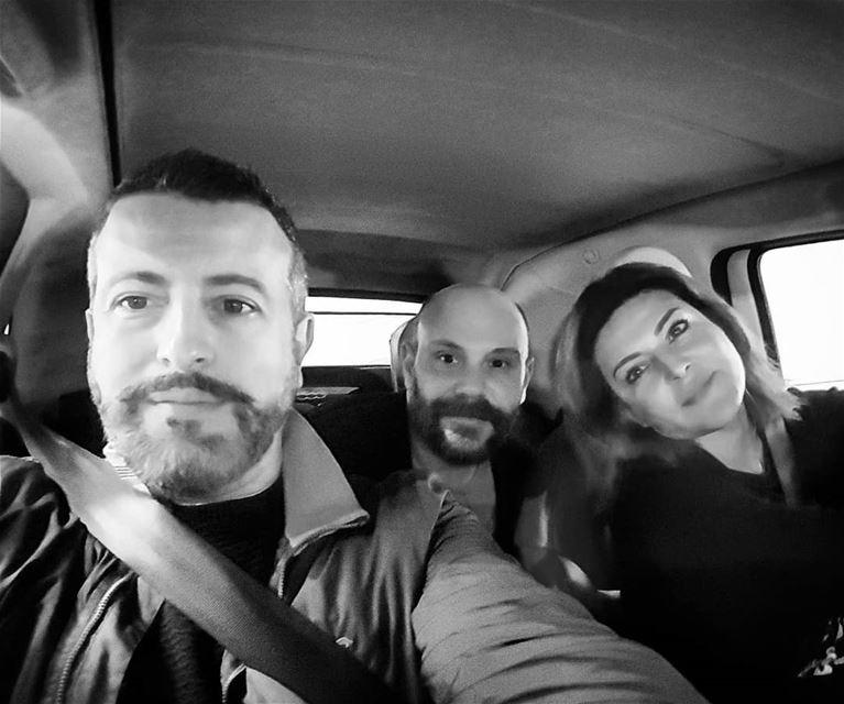 Travel Safe........ three travelsafe tillwemeetagain cousins ... (Beirut, Lebanon)