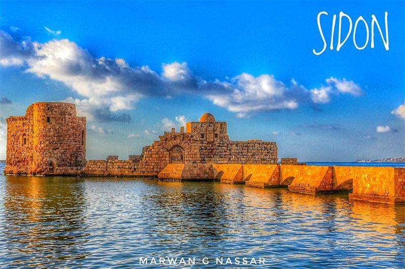 Sidon (Arabic: صيدا‎, صيدون, Ṣaydā; Syriac-Aramaic: ܨܝܕܘܢ; French: Saida;... (Sidon Sea Castle)