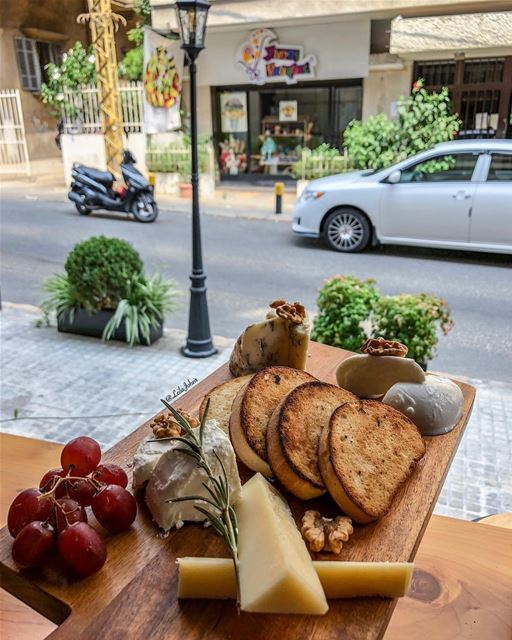 When cheese is life... mozzarella walnut livelovelebanon liveloveeat ... (Achrafieh, Lebanon)