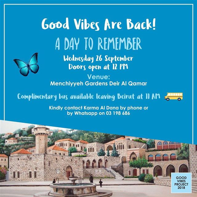 Deir Al Qamar Menchiyyeh Garden welcomes the ngo 'Good Vibes' for a... (Dayr Al Qamar, Mont-Liban, Lebanon)
