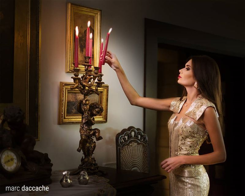 Take your candle and light the worldDressed by: @choueiterModel: @anzhel (Lebanon)