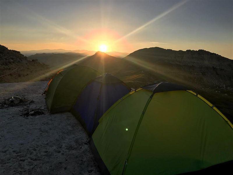 Sunrise‼️................. lebanon nature landscape ... (Dream Land)