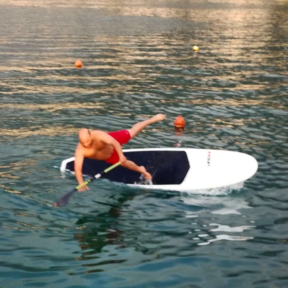 Well...it's Wednesday 🤷♂️... outdoors sport lebanon sup standup ... (Surf Shack Lebanon)
