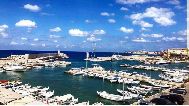 batroun  البترون_سفرة  mina  marina  boats  fishingboat  fisherman  sea ... (Batroûn)