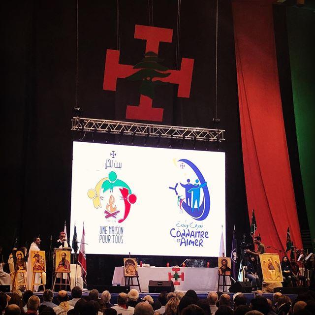 Connaître et Aimer ...Une maison pour tous...80ème Anniversaire des Scouts... (Forum De Beyrouth)