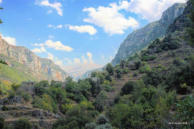 tb  sunday  hike  kadisha  valley  old  village  mountains  nature  sky ...