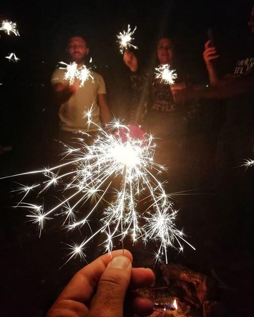 Leave a little sparkle wherever you go✨..... sparkler sparkle ...