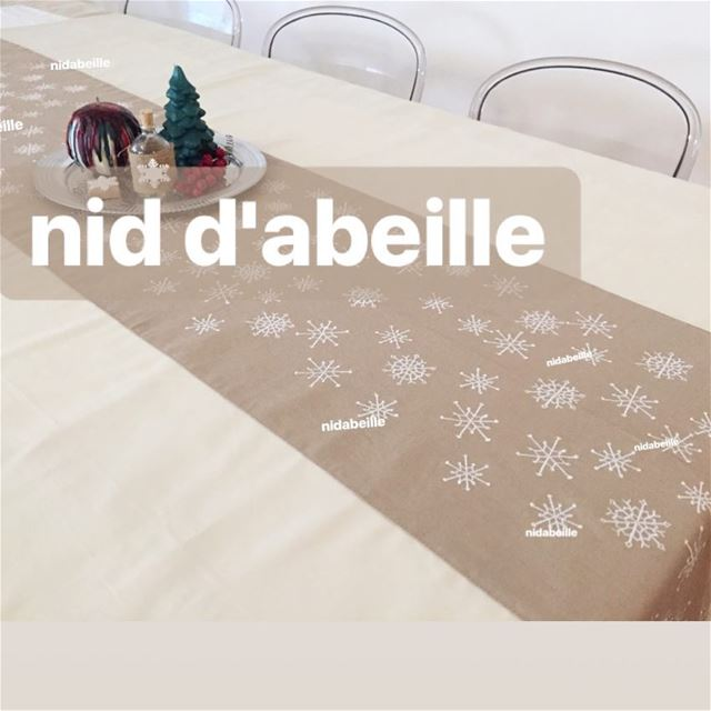 Customize your tablecloth 🍽 Write it on fabric by nid d'abeille ...