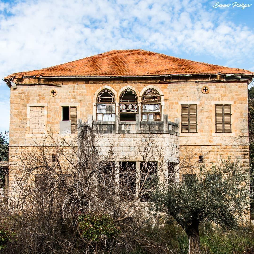 The glory of the past...From the town beneath Mount Sannine, Baskinta..... (Baskinta, Lebanon)