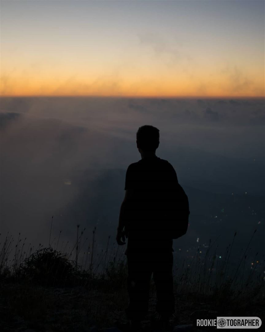 Pursue 🌌 rookietographer ...... silhouettecameo ... (Sir Ad Dinniyah, Liban-Nord, Lebanon)