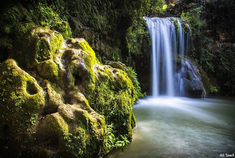 💚 waterfall   jehliye  river  longexposure  longexposure_shots  nature ... (Jehliyeh River)