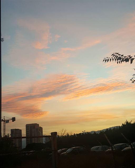 Good morning Beirut 🌇💛❤ .............. Lebanon beirut ... (Achrafieh, Lebanon)