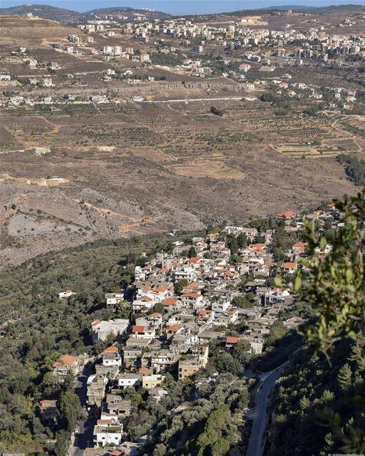 ".• "" Woke up to this view ""• Location: Baadaran Town | Al chouf District... (Baadarâne, Mont-Liban, Lebanon)"