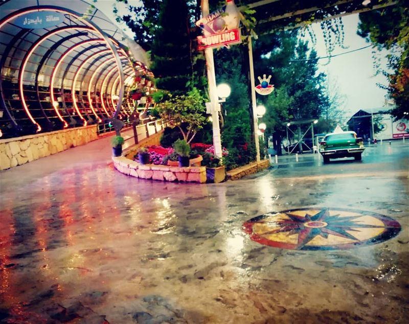 shamsrestaurant rain rainy rainydays lebanon livelovelebanon ... (Restaurant Al Shams مطعم الشمس)