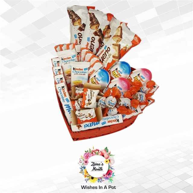 Zeina's month day 17 offer:   kinder heart box for 50,000 L.L.N.B....