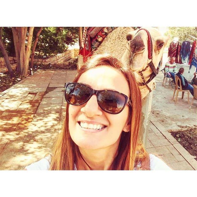 camelselfie baalbek livelovelebanon weekend vacations fun selfie ... (Baalbek, Lebanon)
