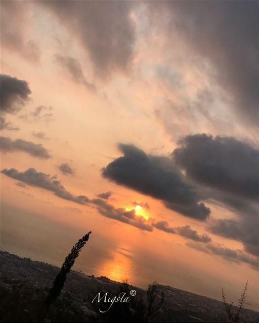 sunset sun color red orange nature camera instanature instagram ...