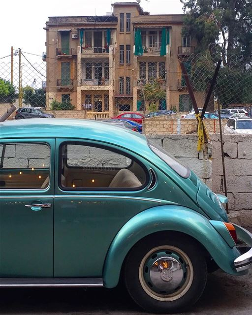 Good morning beirut street old vintage urban life vw vwcar ... (Mar Mikhael-Armenia The Street)