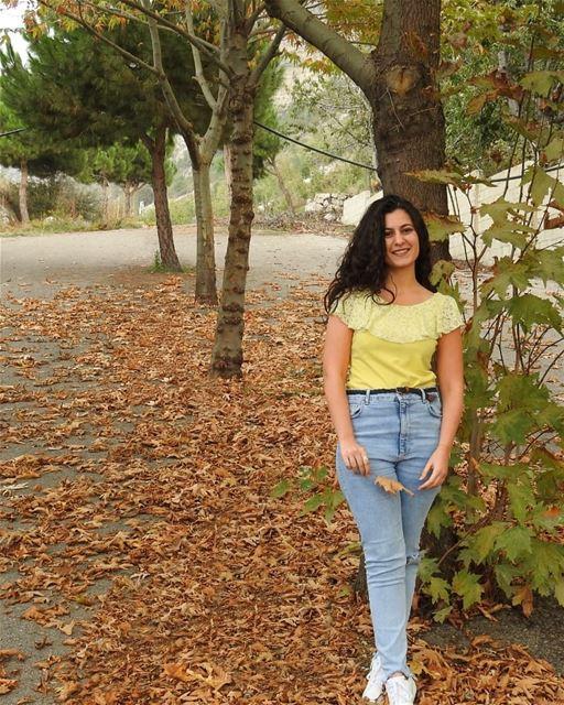 🍁____________ lebanon lebanon_hdr autumn october travelblogger ... (Ehden, Lebanon)