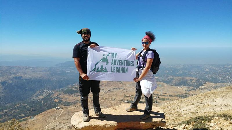 🗻👫🔝  myadventureslebanon  mountaineering  choosemountains ...