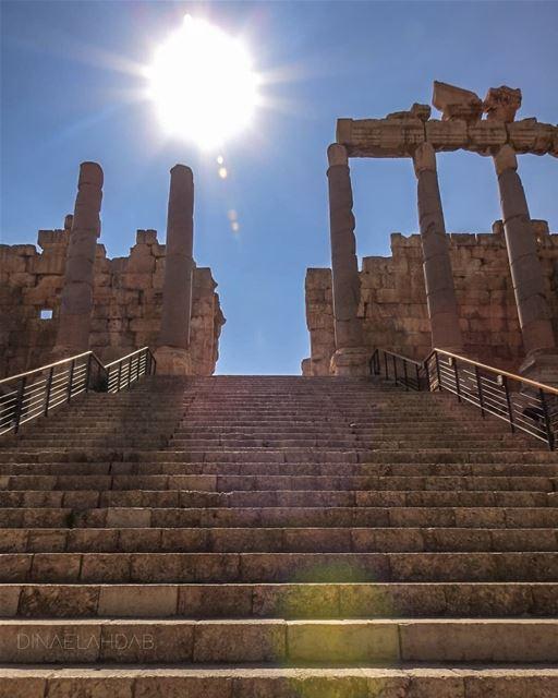 🌞_________________ lebanon lebanon_hdr sunlight romantemple baalbek... (Baalbeck, Béqaa, Lebanon)