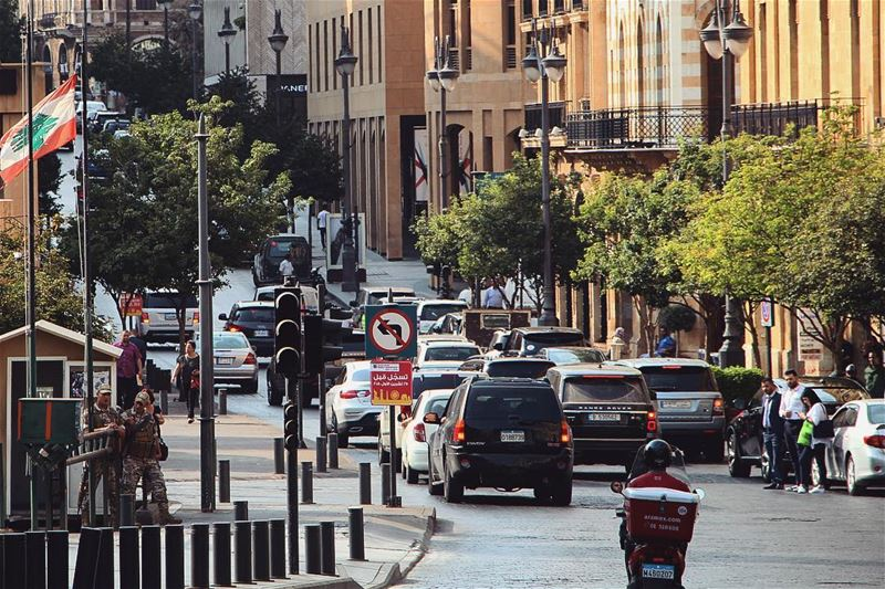 Good morning Beirut people 😊 have a nice... (Downtown Beirut)