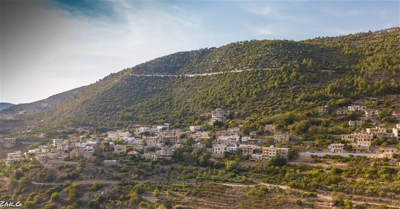 A partial view of Reshmaya village reshmaya lebanon leb mountain ... (Rechmaya)