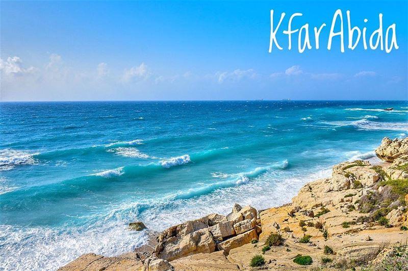 Azzurro......📍Kfar Abida, Northern Lebanon 🇱🇧.... kfarabida ... (Kfar Abida)