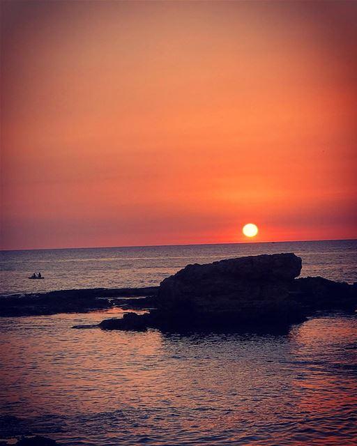 My favourite place 😍 lebanon batroun raysbatroun sunset bahsa ... (RAY's Batroun)