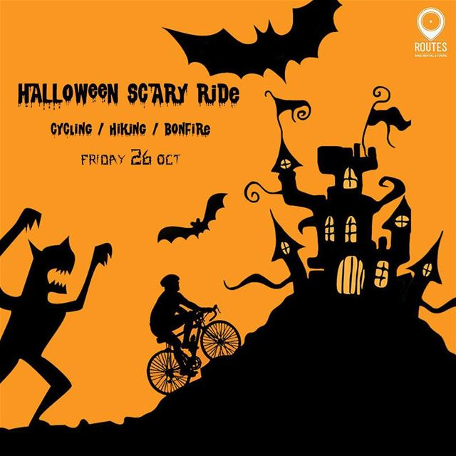 Join us on Friday, October 26 for a scary night ride & Hike to Mselha...