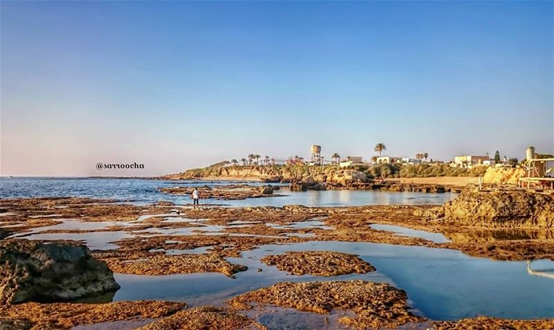 Sea you soon 🌊 endofsummer takenbyme ptk_Lebanon visitlebanon ... (Tyre, Lebanon)