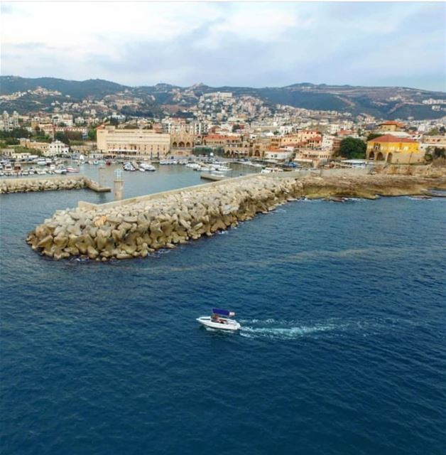 batroun البترون_سفرة city_by_the_sea mina marina boat sailing ... (Batroûn)