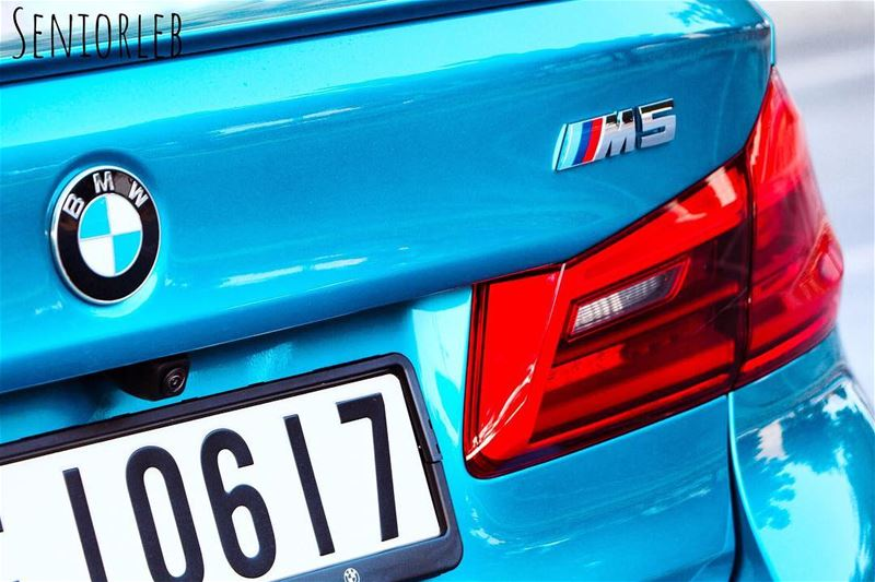 Snappy Rocks Blue my favorite M5 color🔵🔴Ⓜ️ ————————————————————————  bmw... (Dubai, United Arab Emirates)