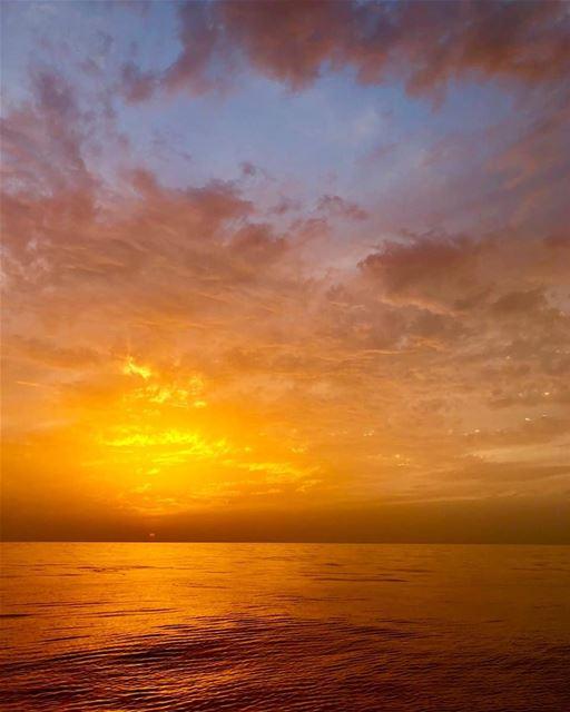 batroun البترون_سفرة sunset sea mediterraneansea batrounbeach ... (Batroûn)