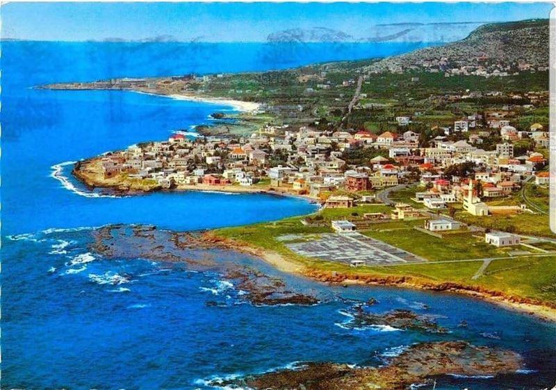 البترون في ستينات القرن الماضي batroun البترون_سفرة city_by_the_sea ... (Batroûn)