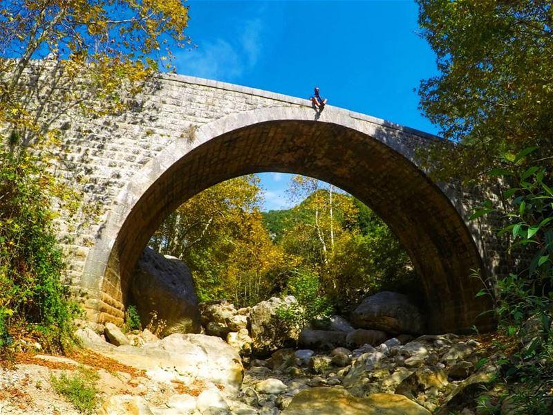 أخيراً لقيت جسر اللوزيّه 😋.... mothernature nature beauty ...