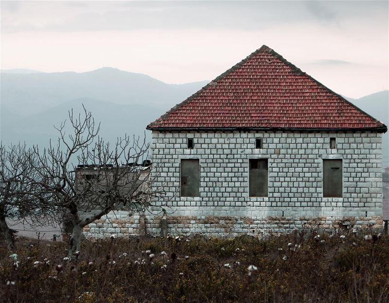 Proudly raised by the mountains ... (Marjayoûn, Al Janub, Lebanon)
