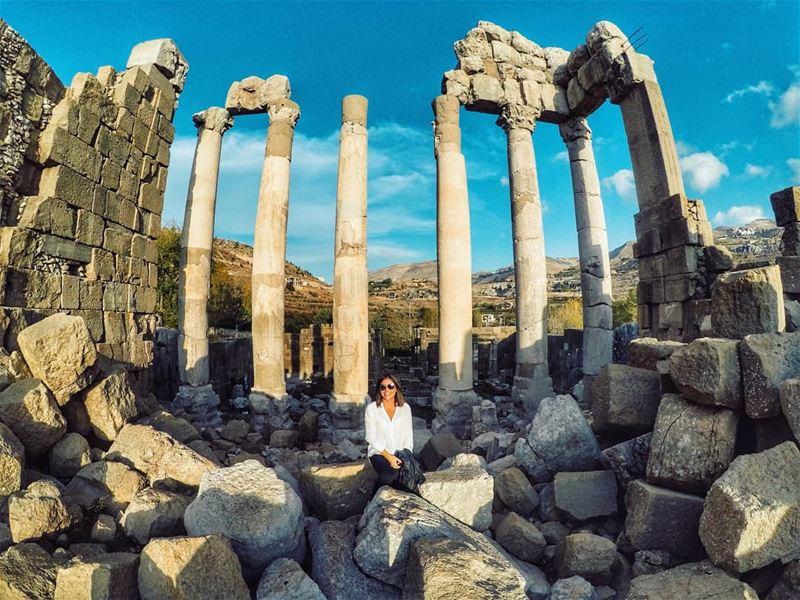 🏛 octobervibes faqra........ livelovekfardebian goprohero5 ... (Ruins Faqra Kfardebian)