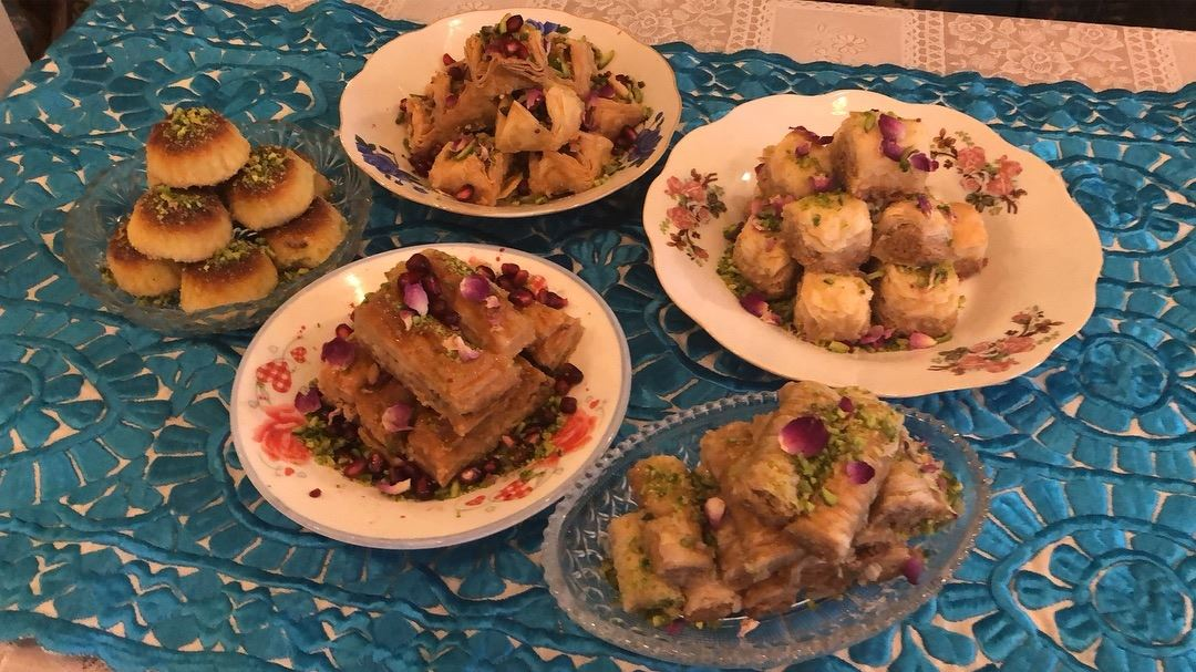 For baklawa Lovers 💖💖💖....... arabicsweets baklava baklawa ... (Yalla Yalla)
