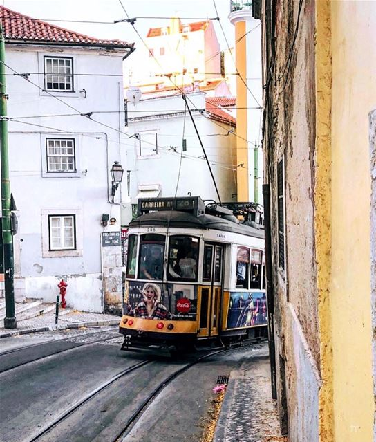 - On the 28 🚃 -.... portugal_lovers portugal lisboalive ... (Lisbon, Portugal)