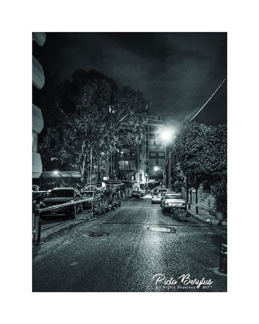 The streets now.. lebanon_hdr vintage monochrome minimalism ...