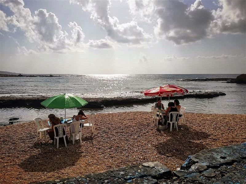 There's not much better in life than a hot cup of tea, a beach view and... (RAY's Batroun)