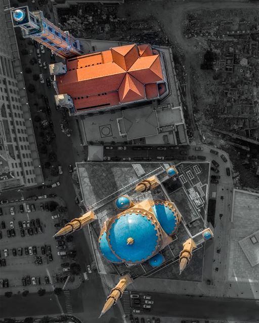 Unity in Diversity 🇱🇧... lebanon unity unityindiversity dji ... (Downtown Beirut)