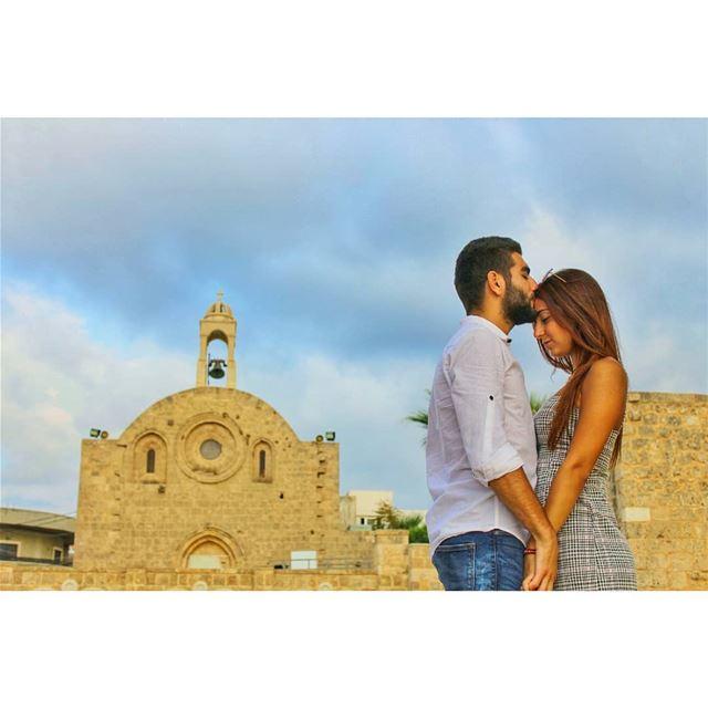 I need you like a heart needs a beat! livelovelebanon lebanonadventure ... (St Catherine's Church ,anfeh Lebanon)