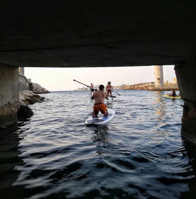 Preparing for some winter Sup & kayak events 🐳. cold fun amazing ... (Batroûn)