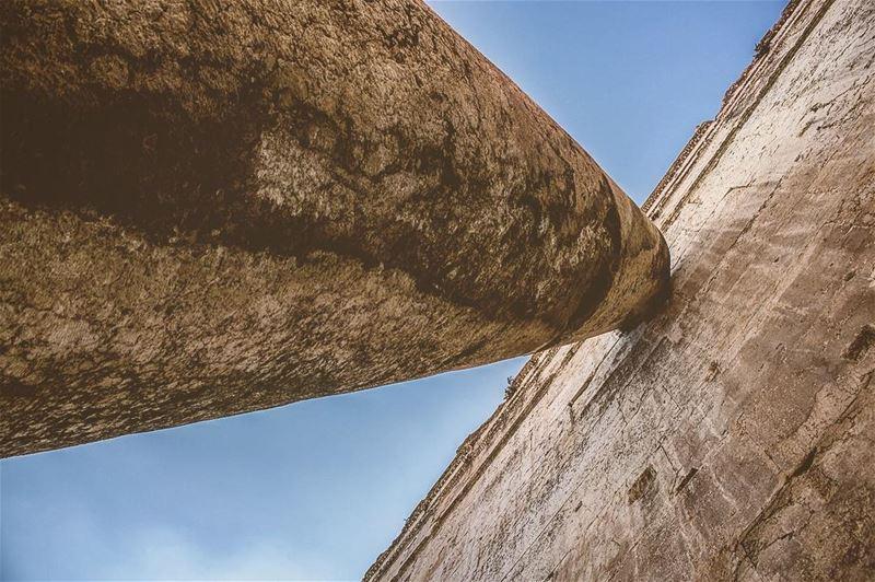 'u r confined only by the walls u build urself...' (Baalbeck, Béqaa, Lebanon)