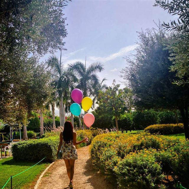 🎈When you love your birthday & you start celebrating a little bit earlier... (Byblos, Lebanon)