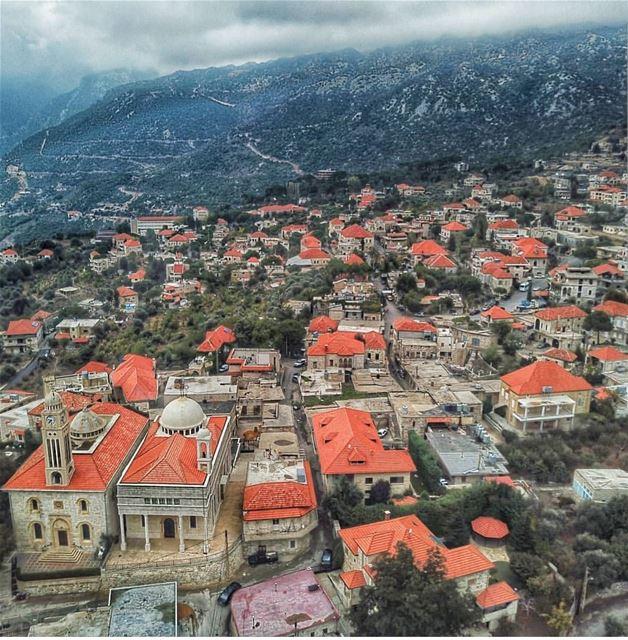 batroun douma village البترون_سفرة mountains nature clouds ... (Douma, Liban-Nord, Lebanon)